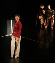 UPPU PULS, Autoportreti, autorica Katarina Đurđević, koreografija Ivančica Janković, Adrijana Barbarić Pevek i Katarina Đurđević, foto: Amer Kuhinja