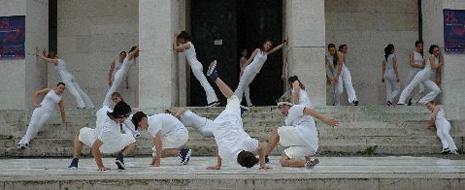 Radionica Roberta Hyltona s učenicama Škole suvremenog plesa Ane Maletić i skupinom B-boysa What Evaa