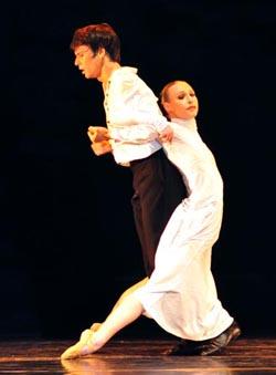Baletni ansambl Kazališta Komedija: Veseljko Barešić, Breza, kor. i red. Dinko Bogdanić, foto: © Ines Novković