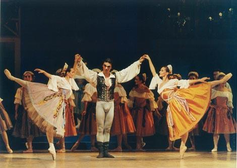 Hrvatsko narodno kazalište u Zagrebu: Léo Delibes, Coppélia, kor. i red. Ivica Sertić, premijera 3. prosinca 1994.