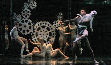 Balet HNK Ivana pl. Zajca Rijeka: Maurice Ravel, Daphnis i Chloe, kor. i red. Staša Zurovac, dir. Nada Matošević