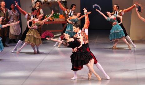 Balet Hrvatskog narodnog kazališta u Zagrebu: Ludwig Minkus, Don Quijote, kor. i red. Patrick Armand (prema Mariusu Petipau), foto: © Novković