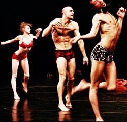 Les Ballets C de la B, Gent, Belgija, Izvan konteksta, za Pinu, koncept i režija Alain Platel