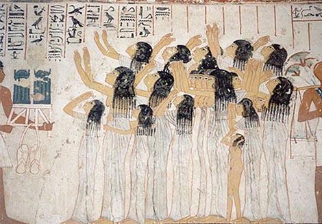 Narikače, stari Egipat