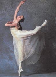 Natalija Bessmertnova kao Julija; Boljšoj balet, Sergej Prokofjev, Romeo i Julija, kor. Jurij Grigorovič, fotografija s gostovanja u Londonu 1989.