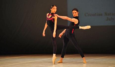 Dmitri Timofejev i Rieka Suzuki Grand Prix Međunarodnog natjecanja baletnih plesača Mia Čorak Slavenska, foto: © Novković
