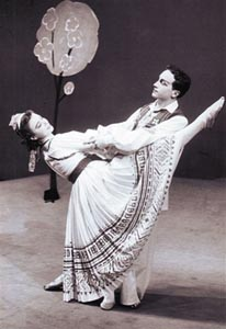 Nenad Lhotka i Ana Roje u baletu Đavo u selu