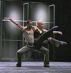 Balet HNK Ivana pl. Zajca Rijeka: Patrick Delcroix, Ogledalo duše (État d âme), kor. i red. Patrick Delcroix