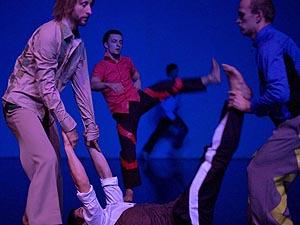 Les SlovaKs Dance Collective, Opening Night, kor. Milan Herich, Anton Lachky, Milan Tomasik, Peter Jasko, Martin Kilvady