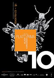 Plakat 10. platforme mladih koreografa, 2009.