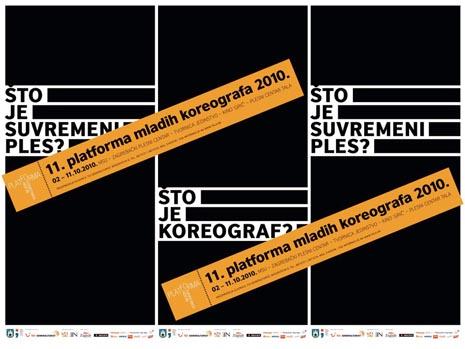 plakat 11. platforme mladih koreografa