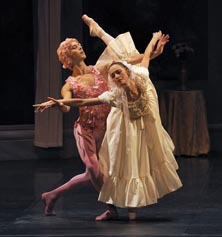 Nacionalni balet Bordeaux: San o ruži, glazba Carl Maria von Weber, kor. Mihail Fokin, foto: Sigrid Colomyès, www.dansomanie.net