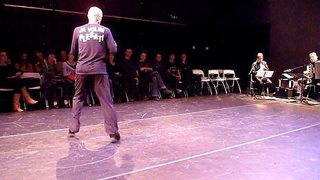 Plesni studio Liberdance, Zagreb: Session za jednog Stand up plesača, kor. Rajko Pavlić