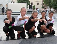 Učenice Škole suvremenog plesa Ane Maletić na pokusu