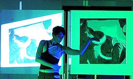 Ljiljana Zagorac i Roko Nejašmić: Spirale, plesna predstava/izložba, koprodukcija llinkt! Plesni projekt i Centar za kulturu Trešnjevka