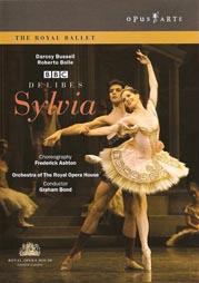 DVD balet: Kraljevski balet u Royal Opera House Covent Garden, Léo Delibes, Sylvia, kor. Frederick Ashton, Opus Arte, 2005.