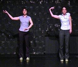 (Za)držati (se) (za), kor. Petra Zanki i Britte Wirthmüller
