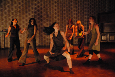 Forum za Novi Ples Baleta Srpskog narodnog pozorišta Novi Sad: <ezik zidova, koreografija i režija Guy Weizman i Roni Haver. foto: Miomir Polzović